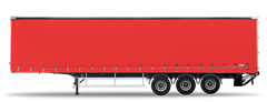 3.5 - 6.0t Curtainsider Rigid
